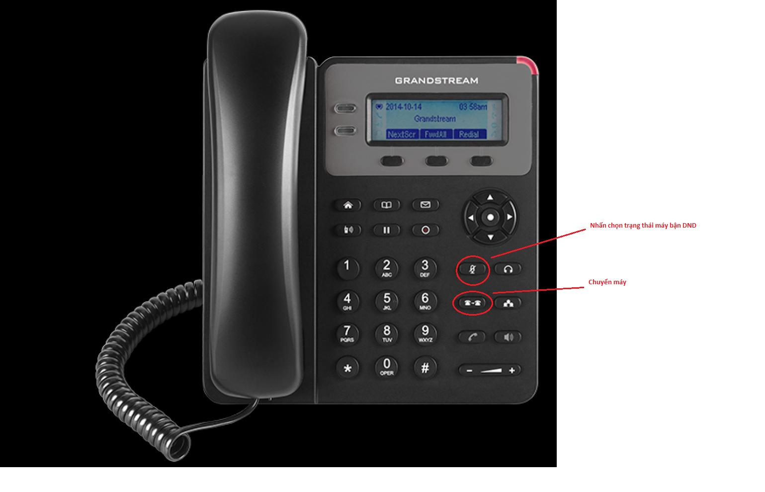 cách đổi tiếng chuông điện thoại bàn